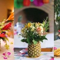 DIY: Arranjos florais com Vaso de Abacaxi